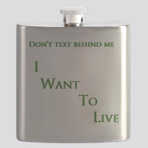 Don text behind me Flask