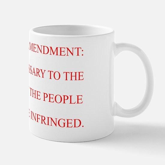 The Second Amendment Flag Mug