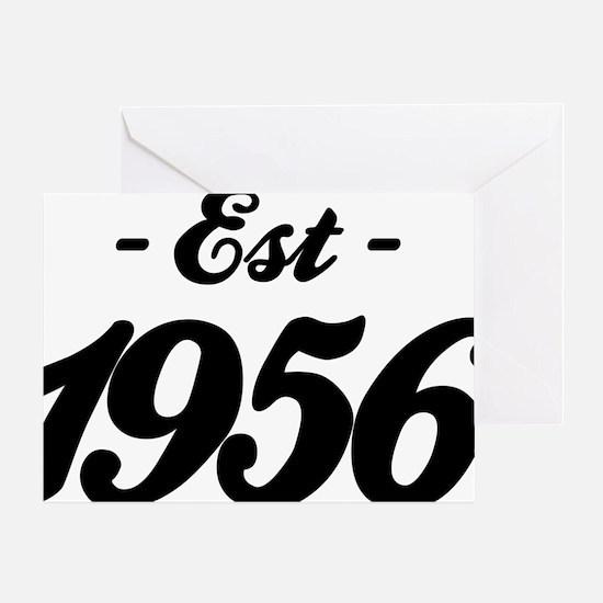 Established 1856 - Birthday Greeting Card