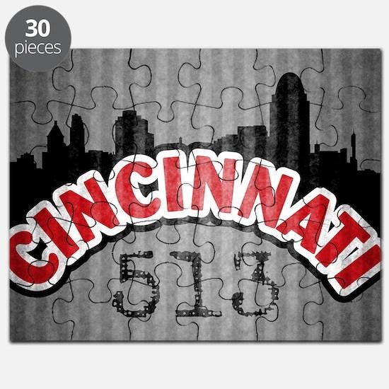 Cincinnati Area Code Puzzle