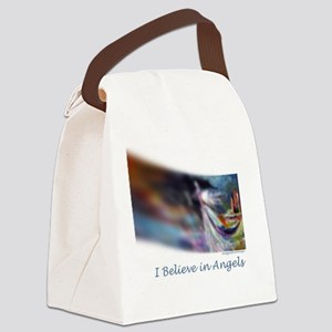 i believe in angels Canvas Lunch Bag