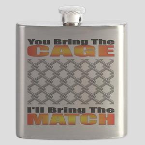 Cage Match Attitude II Flask