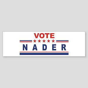 Ralph Nader in 2008 Bumper Sticker