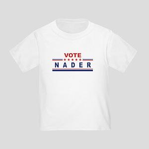 Ralph Nader in 2008 Toddler T-Shirt