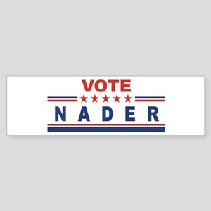 Ralph Nader in 2008 Bumper Sticker