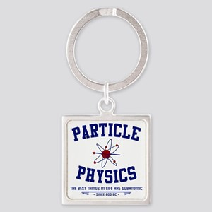 Particle Physics Square Keychain