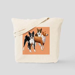 three basenjis Tote Bag