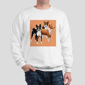 three basenjis Sweatshirt