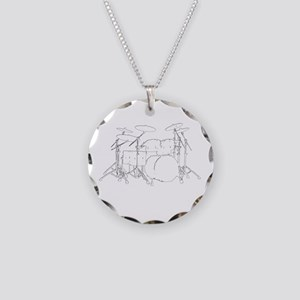 The tempo is what I say (TS- Necklace Circle Charm