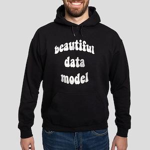 beautiful data model Hoodie (dark)