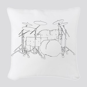 The tempo is what I say (TS-W) Woven Throw Pillow