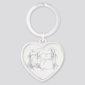The tempo is what I say (TS-W) Heart Keychain