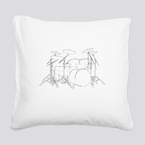 The tempo is what I say (TS-W Square Canvas Pillow