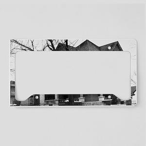 Snook House, Ottumwa Iowa License Plate Holder