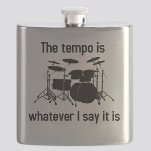 The tempo is what I say (TS-B) Flask