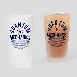 Quantum Mechanics Drinking Glass