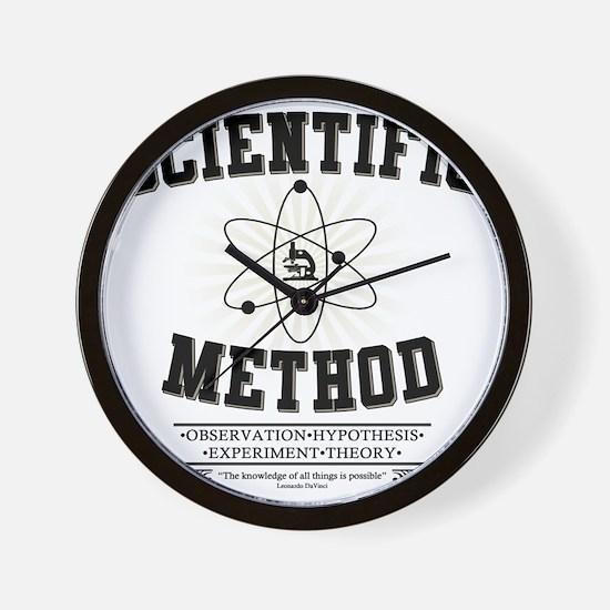 Scientific Method Wall Clock