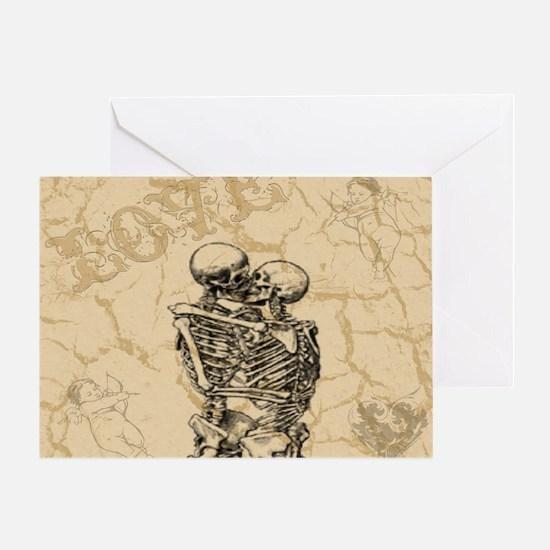 True Love - King Duvet Cover Greeting Card