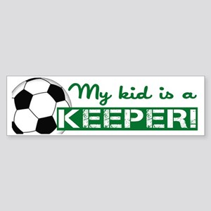 Proud Goalkeeper Parent  Sticker (Bumper)