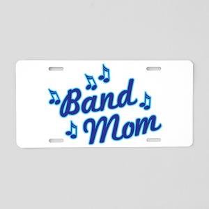 Band Mom Aluminum License Plate