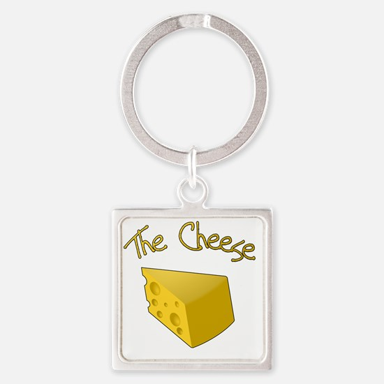 The Cheese Square Keychain