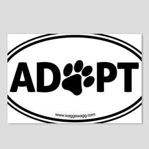 Adopt Black Postcards (Package of 8)