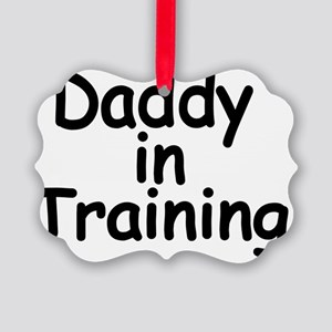 Daddy in Training Picture Ornament