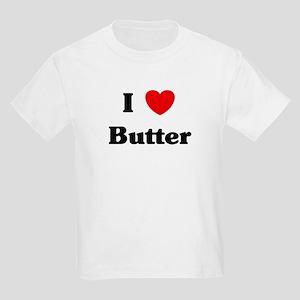 I love Butter Kids Light T-Shirt
