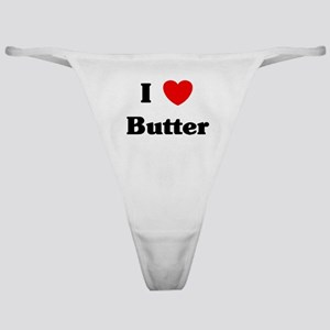 I love Butter Classic Thong