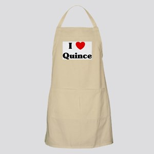I love Quince BBQ Apron