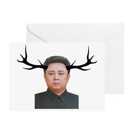 The Deer Leader Greeting Card