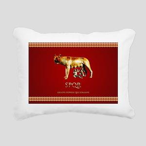 Roman design Rectangular Canvas Pillow