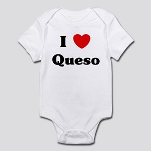 I love Queso Infant Bodysuit