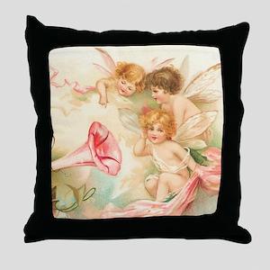 la_shower_curtain_kl Throw Pillow