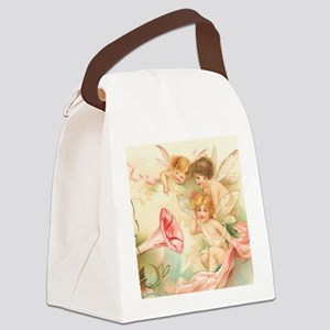 la_shower_curtain_kl Canvas Lunch Bag
