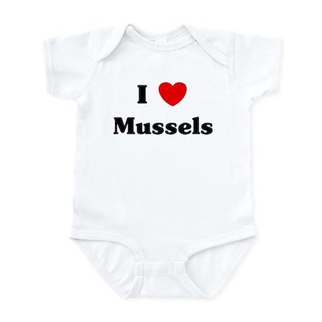 I love Mussels Infant Bodysuit