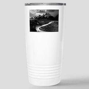 Ansel Adams The Tetons  Stainless Steel Travel Mug