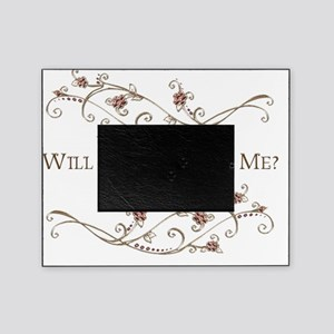 Will You Marry Me Picture Frames Cafepress