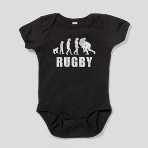 Rugby Tackle Evolution Baby Bodysuit
