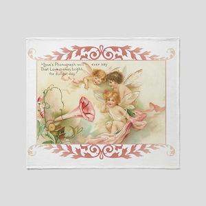 Cupid Angel I Throw Blanket