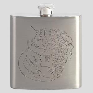 Random Breaks Serendipity Light Flask