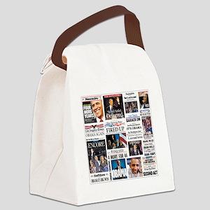 Obama Inauguration Canvas Lunch Bag
