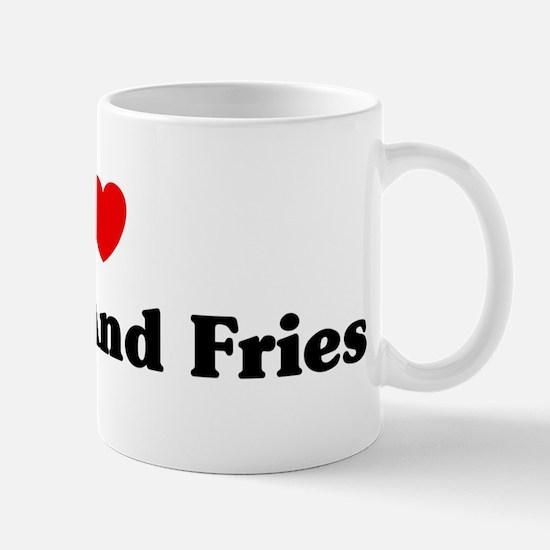 I love Burger And Fries Mug