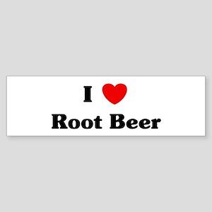 I love Root Beer Bumper Sticker