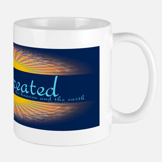 Genesis 1 1 Bible Verse Sunrise Mug