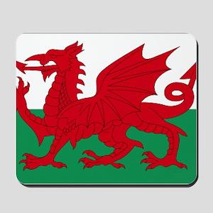 Wales flag decorative Mousepad