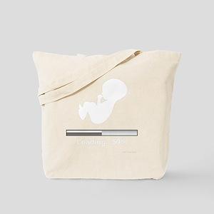 Baby Buffering...50% Tote Bag