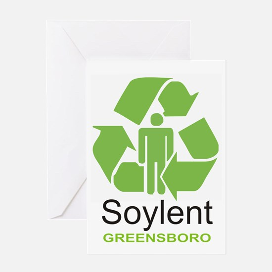 Soylent Greensboro Greeting Card