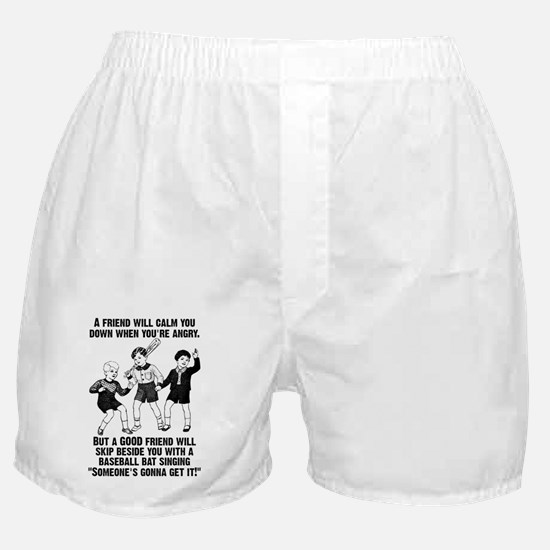 Someone's Gonna Get It Funny T-Shirt Boxer Shorts