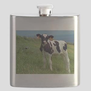 Curious calf Flask